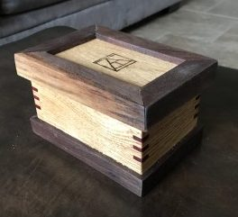 Handmade wooden box - custom woodwork