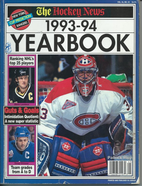 1993-94 Hockey News Yearbook