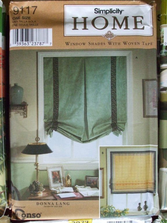 Window Treatments Simplicity Sewing Patterns Shades