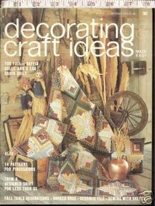 Decorating Craft Ideas October 1975 Quilts Raffia Dolls