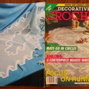 Decorative Crochet magazine September 1992 #29