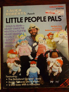 Little People Pals pattern 1982 Cabbage Patch dolls