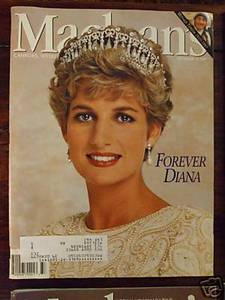 Macleans Princess Forever Diana mag book Sept 15 1997