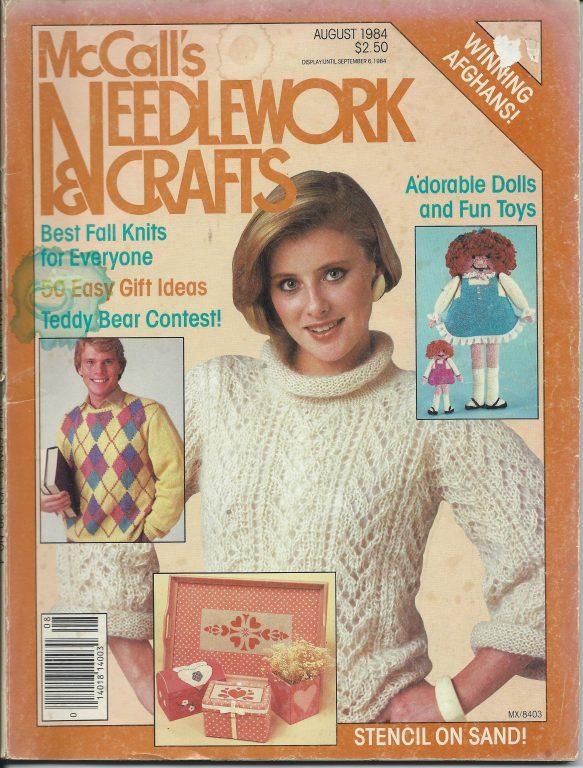 McCall/'s Needlework Vintage Needlework Pattern Magazine November 1997