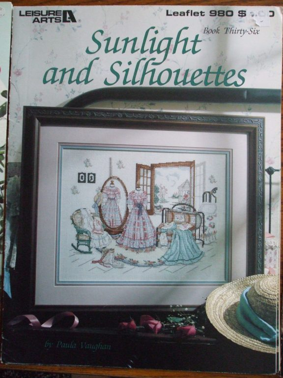 IN THE GARRET  cross stitch pattern Paula Vaughan Book 33