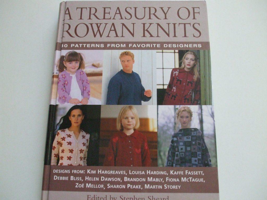 A Treasury of Rowan Knits 80 knitting pattern book ...