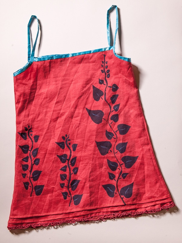Make your own stenciled fabrics