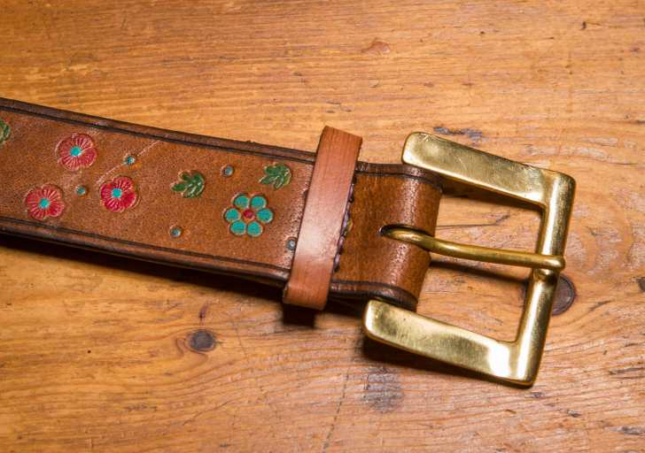 attaching buckle, beltmaking