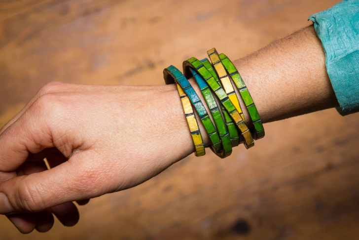 Leather Wrap Bracelet Diy Make Your Own Leather Jewellery Second