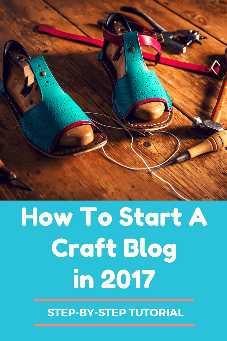 start a craft blog