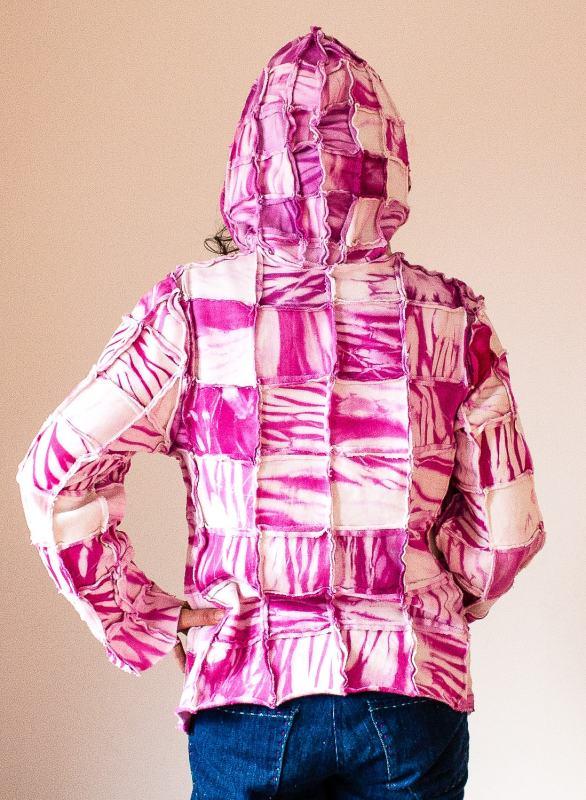 pieced hoody