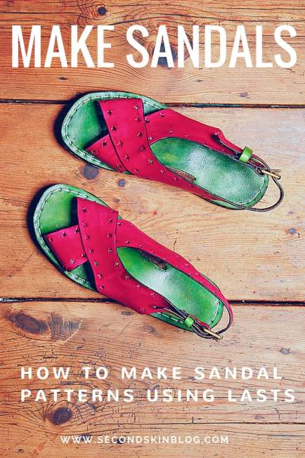 a2838f383606 Making A Sandal Pattern Using Lasts - Step-By-Step Tutorial