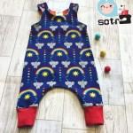 elephants jersey fabric