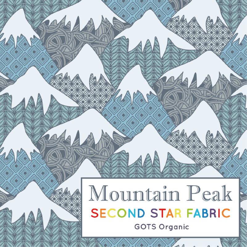 Mountain jersey fabric