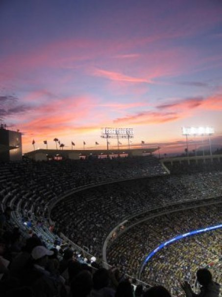 los angeles dodgers stadium