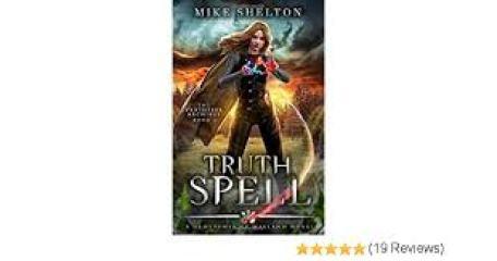 Cover art for TruthSpell by Mike Shelton