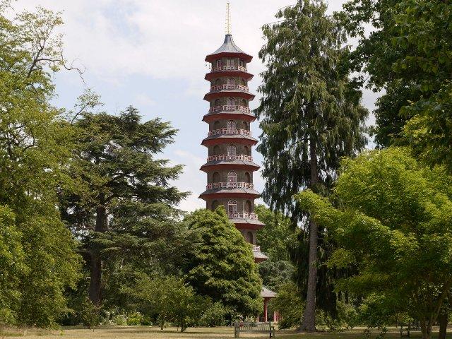 Pagoda at the Kew Botanical Gardens