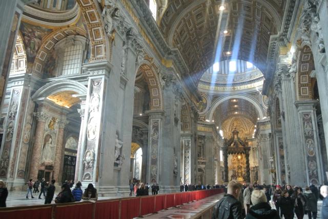 Vatican Basilica inside