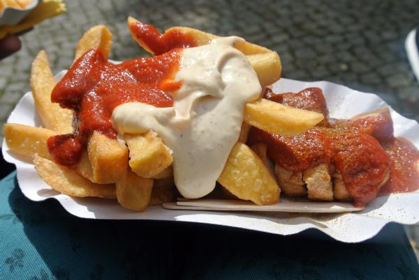currywurst in Berlin