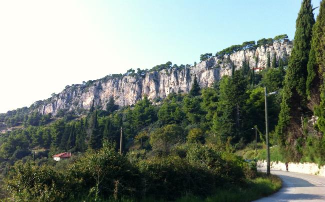 Marjan rocks in split