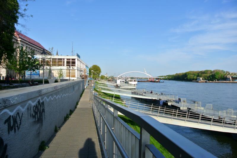 Bratislava riverwalk