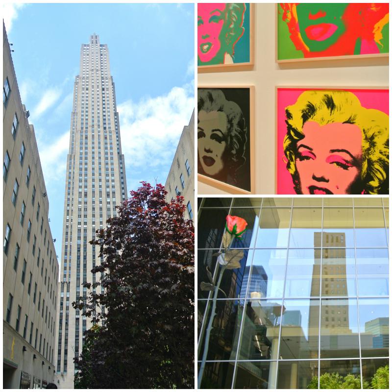 Rockefeller Center and MoMa