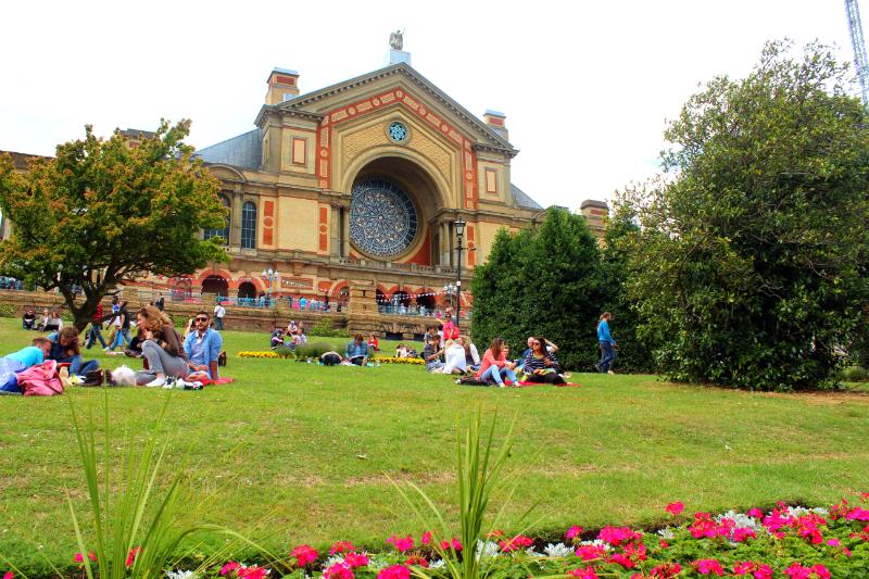 Alexandra Palace in London