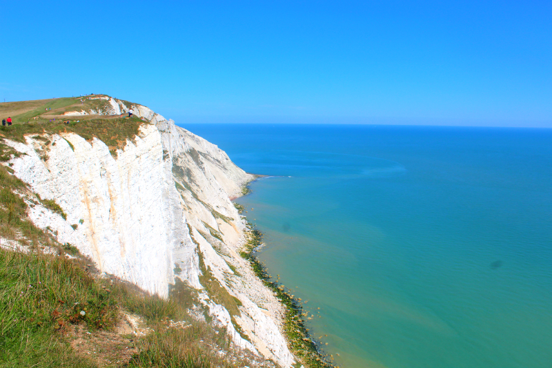white cliffs at Beachy Head