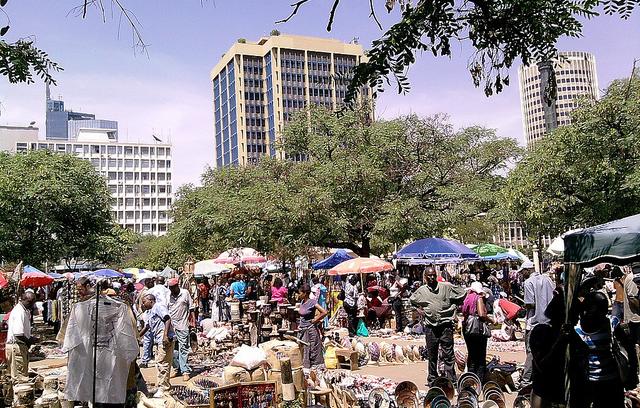 Kenya market