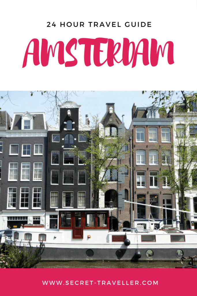 Heading to Amsterdam for a short break? Find out how you can spend 24h in Amsterdam & more, including a canal cruise, the picturesque Jordaan, and Dutch fries.
