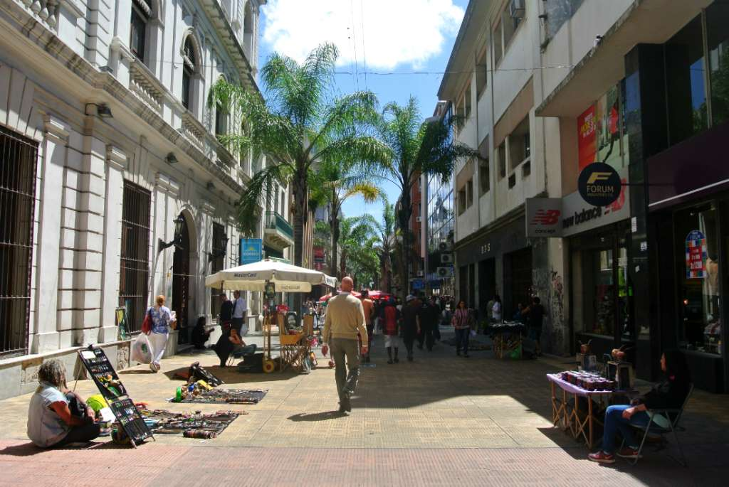 Historic town of Montevideo