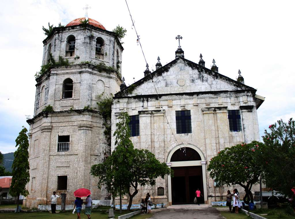 Immaculate Conception Parish Church in Oslob, Cebu