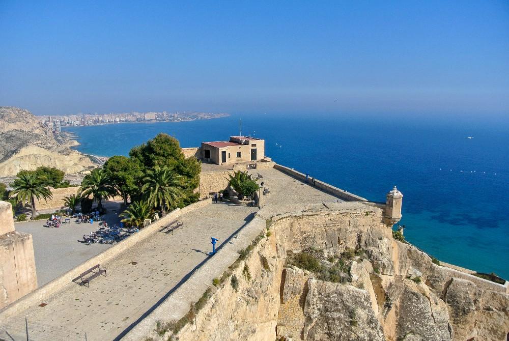 Castle in Alicante