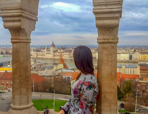 view over Budapest