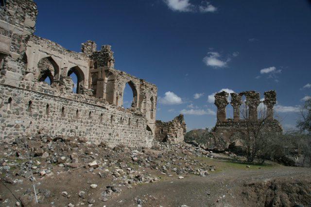 alte ruinen ibra oman