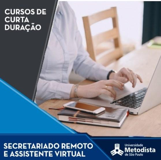 [Curso Presencial] Secretariado Remoto e Assistente Virtual | Universidade Metodista