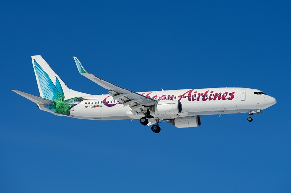 Who flies to Barbados? Caribbean Airlines