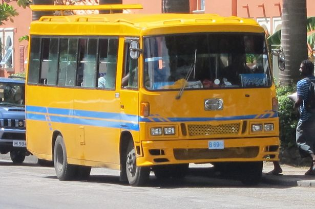 getting around barbados by bus