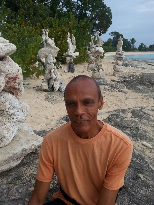 Barbados stone sculptures