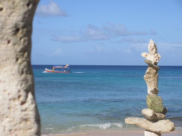 Barbados stone sculptures