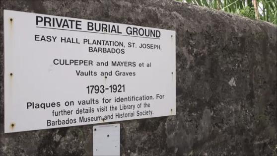 slave burial ground