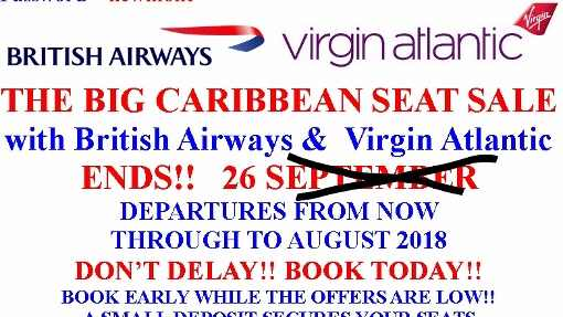 cheap flights UK to Barbados