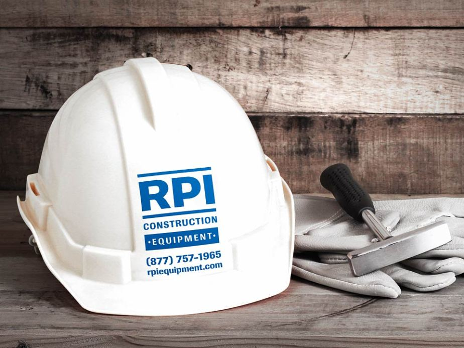 RPI Construction Equipment Hard Hat