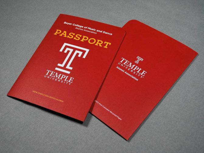 Temple University Boyer Alumni Passport