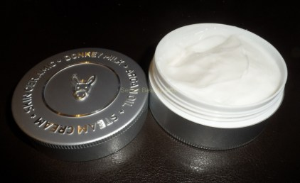 skin ceramic donkey milk steam cream