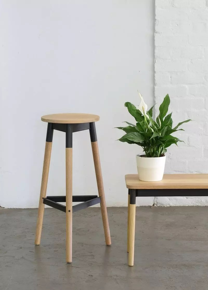 Bar Stool Pedersen and Lennard Furniture Design Company