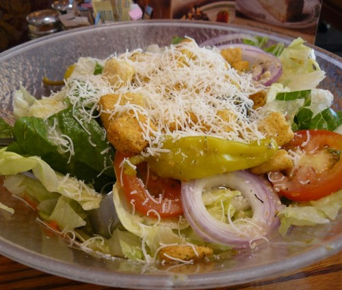 Olive Garden Salad and Dressing Recipe