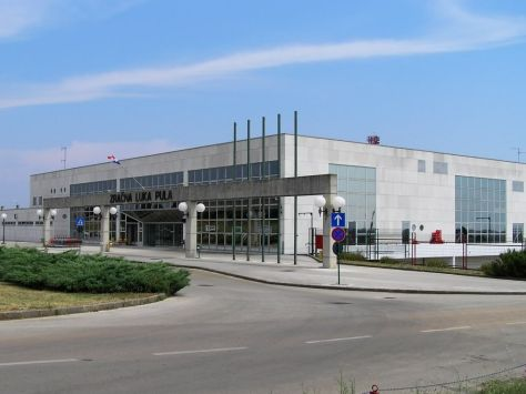 Pula Airport main building
