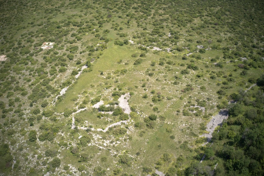 Nadin site from the air