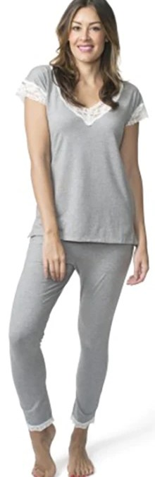 Lusome — New Pjs in Grey and Aqua